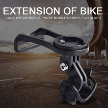 Bicycle Extension Bracket Aluminium Alloy Engineering Plastic Handle Stem Stopwatch Computer Holder Mount Base