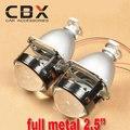 Обновление Высокая Яркость Full Metal H4 H7 Проектор 2.5 дюйм(ов) WST мини HID биксеноновая Проектор для Авто Фара Использование H1 HID Лампы