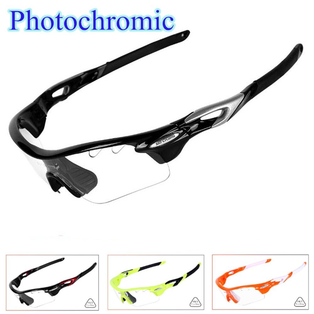 2018 Photochromic Bersepeda kacamata UV400 Sepeda Sepeda Sunglasses Olahraga  Kacamata TR90 Radar ev gafas ciclismo di Bersepeda Eyewear dari Olahraga ... 99c29bd804