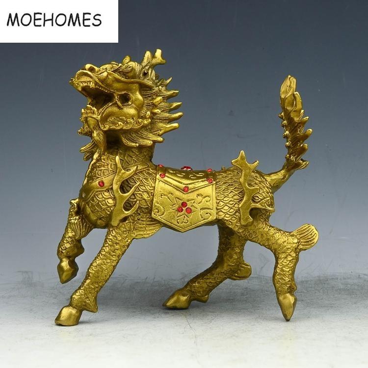 Китайський бронзовий латунь Феншуй - Домашній декор - фото 6