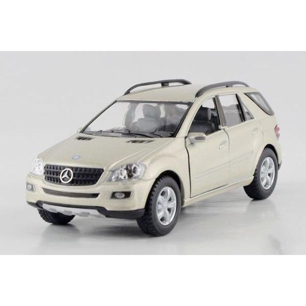 Niños de los Niños 1:36 Kinsmart Modelo de Coche Mercedes Benz ML Clase KT5309 5 pulgadas Diecast Metal de Coches De Aleación De Juguete Tire Hacia Atrás regalo