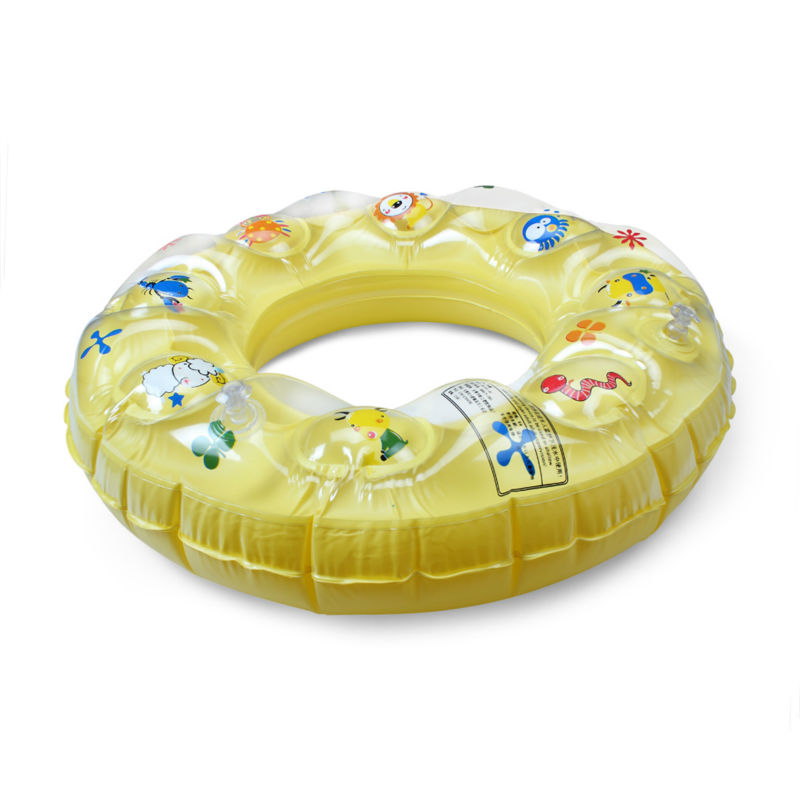 1X Baby Child Float Double Ring Seat For Swimming Pool Lakes 4 7 ...