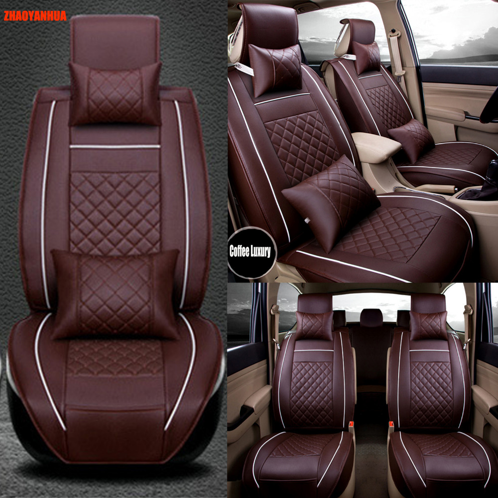 ZHAOYANHUA <font><b>Car</b></font> <font><b>seat</b></font> <font><b>cover</b></font> made for <font><b>Mercedes</b></font> Benz E class <font><b>W211</b></font> W212 S211 S212 E200 E220 E280 E300 E320 E350 carpet rus liners image