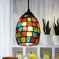 2G23D Jardim Europeu criativo moderno lustre lâmpada bar LEVOU corredor de entrada varanda lâmpadas pingente