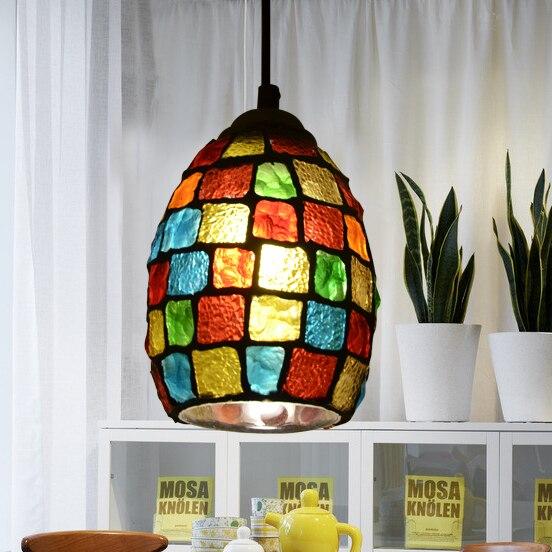 European Garden creative modern chandelier Pendant Lights LED bar entrance corridor balcony pendant lamps TA102010