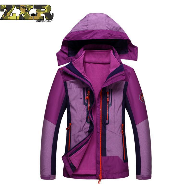 Women Winter Fleece Jackets Outdoor Sport Coats Hiking Skiing Trekking Male Female Waterproof Windproof Coat все цены