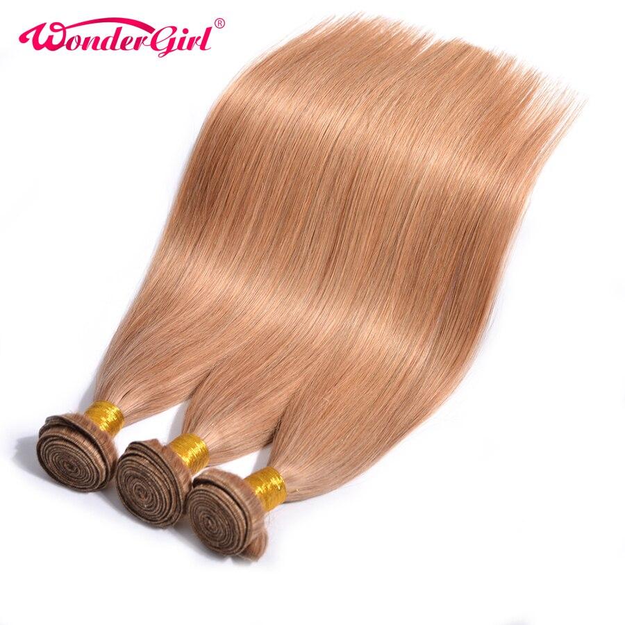 3 Bundle Deals Color 27 Honey Blonde Brazilian Straight Human Hair Bundles 100 Non Remy Hair