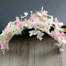 NEW Free shipping KLJH30658 20pcs /lot 1 color Silk Silk flower headband Hawaii Dancer Summer Beach Party
