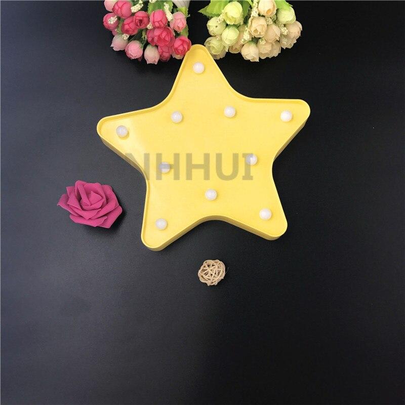 Nouveauté étoile nuit lumière enfants chambre de bébé éclairage - Veilleuses - Photo 3