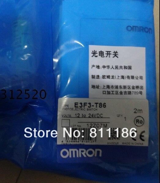 ФОТО 1pcs/lot  Photoelectric sensor E3F3-T86 is brand new , in stock.