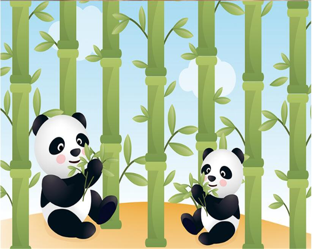 Download Wallpaper Gambar Kartun Panda El HD