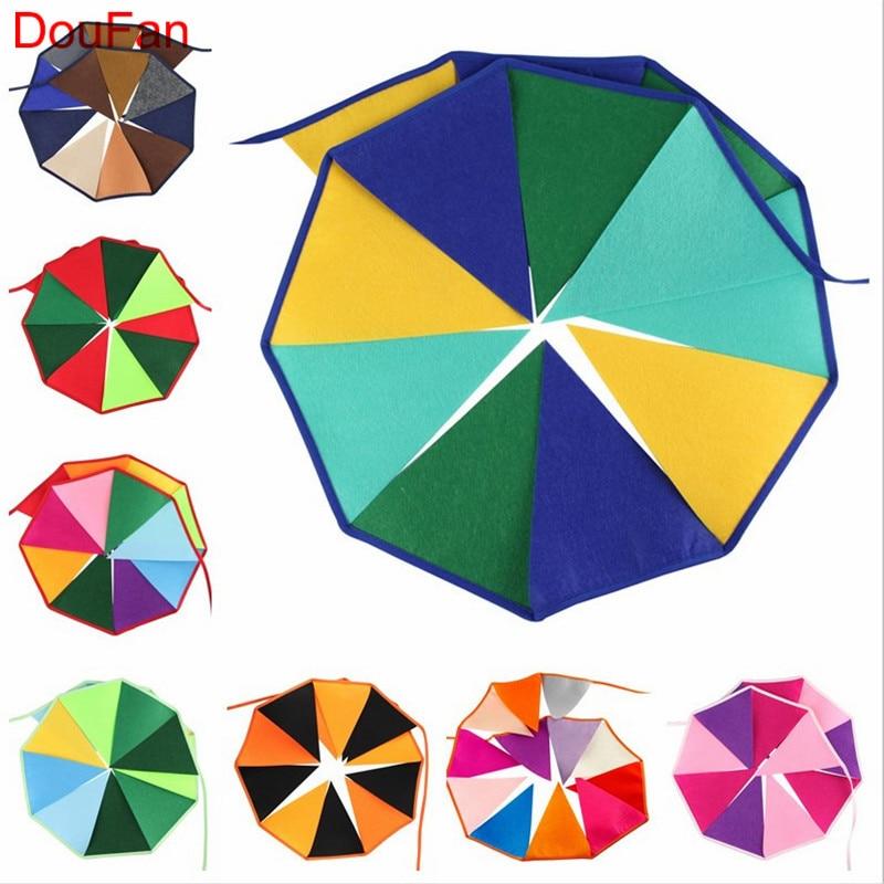 DouFan 1 Unidades Arco Iris de Color Del Arco Iris de No Tejido - Para fiestas y celebraciones
