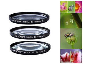 Image 5 - 49mm Filter kit UV CPL FLD ND4 Close up + Lens Hood + Cap + cleaning pen for Canon EOS M5 M6 M10 M50 M100 M200 with 15 45mm lens