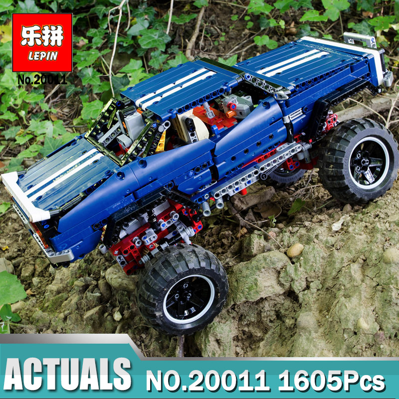 Lepin 20011 Technic Remote Control Electric off-road Vehicles building block toys compatible with Legoing 41999 Technic Toys lepin 20011 1605 pcs super classic limited edition of off road vehicles model building blocks bricks compatible toy 41999