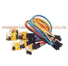 Eight Road 8 Channel Infrared Detector Tracking Transmission Line Obstacle Avoidance Sensor Module for Arduino Diy Car Robot