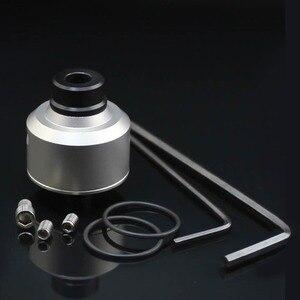 Image 5 - Volcanee SXK Flvr Phong Cách RDA Thép Không Gỉ Atomizer RDTA Vape Xe Tăng Với Driptip Cho Thuốc Lá Điện Tử Cơ Box Mod