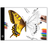 A3 A4 Led Tracing Light Box For Drawing Professional Light Pad Cartooning Copyboard Light Boxes
