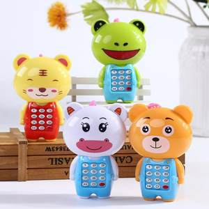 Toy Phone Musical Early Education Mini Electronic Children Cartoon Cute