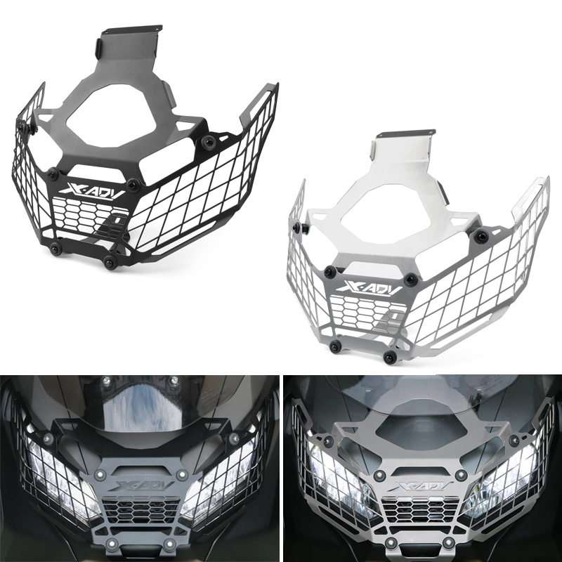 Areyourshop Motorcycle Head Light Grill Guard Lamp Cover Protector For Honda X-ADV 750 2017-2018 New Arrival Motorbike Styling