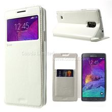 RR Roar Korea Noble View Leather Flip Cover for Samsung Galaxy Note 4 N910 Note4 - FREE SHIPPING