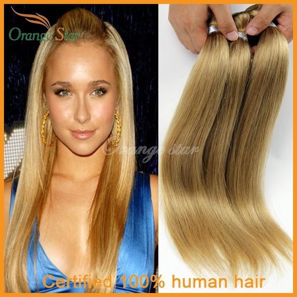 4bundles Brazilian Blonde Hair Extensions Straight Blonde Human Hair