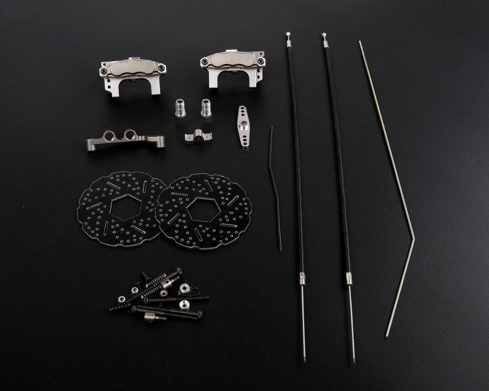 フロントホイールラインワイヤーブレーキシステム 1/5 スケール rc バハ 5B 5 T 5SC 部品 Rovan rc 部品 HPI KM2.0  グループ上の おもちゃ & ホビー からの パーツ & アクセサリー の中 1