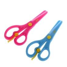 Купить с кэшбэком Printer Supplies Environmental protection max color Safety scissors DIY for the use of school office children scissors