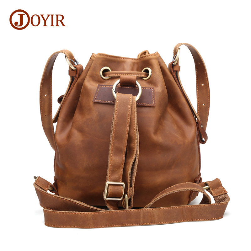JOYIR Women Cow Leather Backpack Genuine Leather Women Bag Fashion Retro School Bags For Female Brand Travel Backpacks brand bag backpack female genuine leather travel bag women shoulder daypacks hgih quality casual school bags for girl backpacks