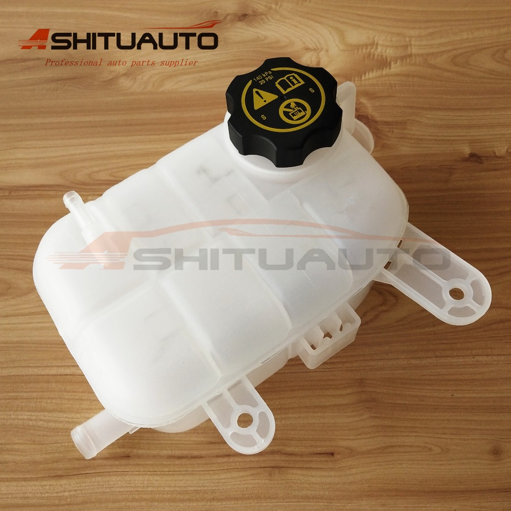 AshituAuto Original Engine Coolant Reservoir Overflow Expansion Tank and Cover For Chevrolet Trax G M Encore