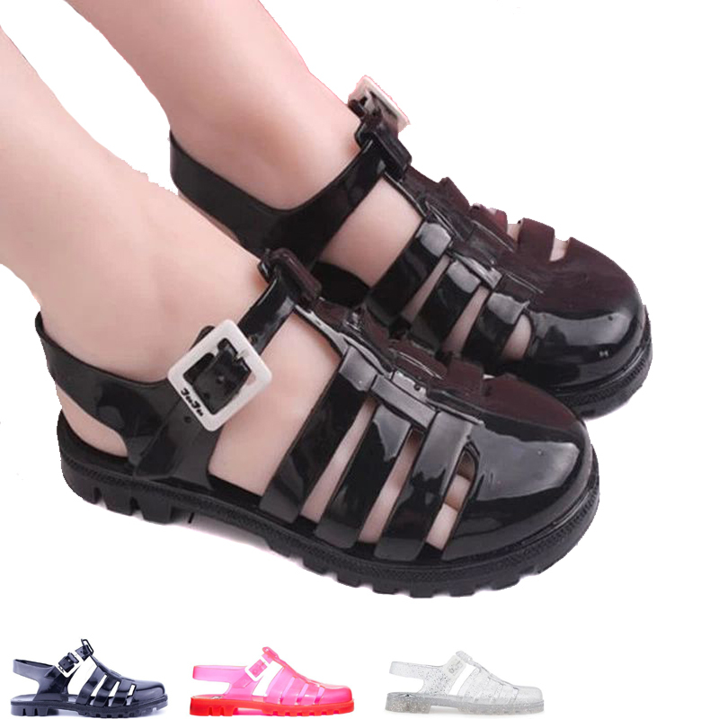 Jelly Sandals. Showing 48 of results that match your query. Search Product Result. Product - Toddler Girls' Jelly Flower Sandal. Clearance. Product Image. Price Product - Wee Kids Baby-Girls Sandals Jelly Shoes Infant Shoes Baby Shoes Girls Summer Sandals Champagne Gold Sz Product Image. Price $
