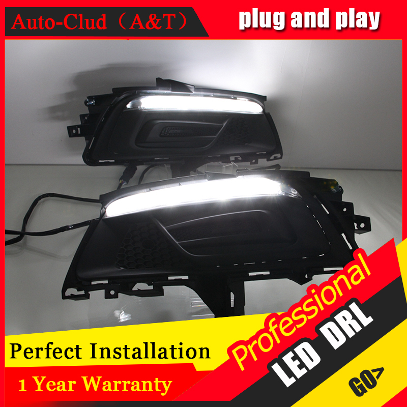 Auto Clud car styling For Chevrolet Cruze LED DRL For Cruze led fog lamps daytime running light High brightness guide LED DRL