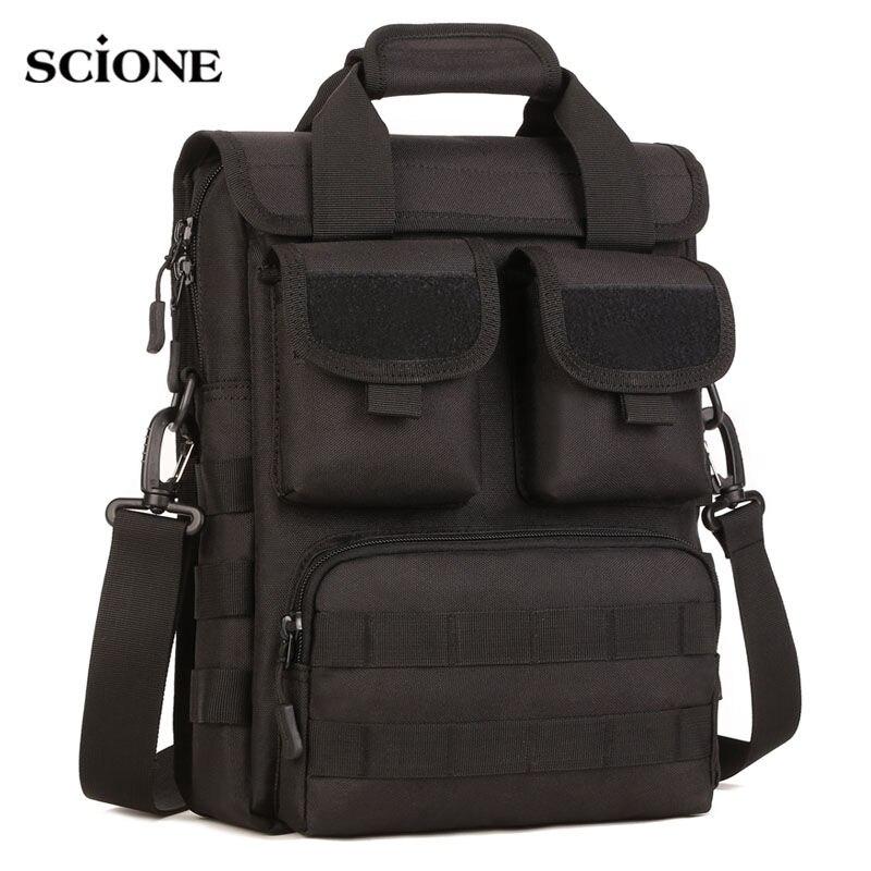 Outdoor Tactical Shoulder Bags Toolkit Crossbody Bag Climbing Travel Camping Hunting MOLLE Handbag Military Nylon Bag XA147WA