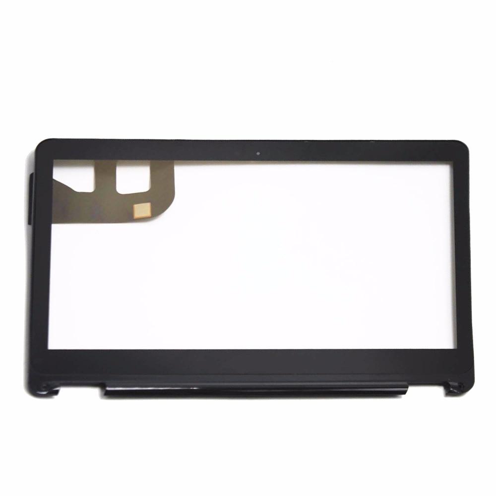 "13.3"" Touch Screen Digitizer Glass Sensor Panel Laptop Housings Touchpads Replacement Parts +Bezel for Asus Q303 Q303UA-BSI5T21"