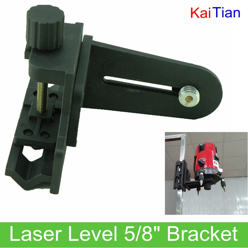 ФОТО KaiTian Laser Level 5/8 inch Quick Bracket for Extension Rod and Adjustable Height Lazer Level