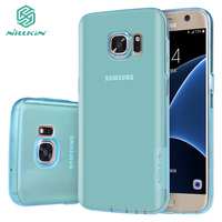 Soft Clear Cover Case For Samsung Galaxy S7 Original Nillkin Nature TPU Case For Samsung S7