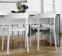 Best Selling Modern Stainless Steel Chair For Dining Room Free Shipping