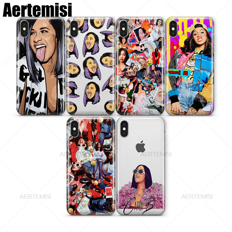 Boys' Shoes Kids' Clothes, Shoes & Accs. Aertemisi Phone Cases Cardi B Transparent Crystal Clear Soft Tpu Case Cover For Iphone 5 5s Se 6 6s 7 8 Plus X Discounts Price