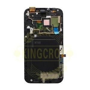 Image 3 - AMOLED LCDFor 삼성 갤럭시 노트 2 Note2 N7100 N7105 T889 i317 i605 L900 LCD 프레임 디스플레이 터치 스크린 디지타이저 어셈블리