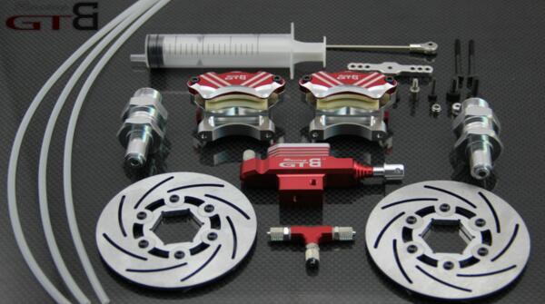 Передние колеса гидравлической тормозной системы для 1/5 HPI Baja 5B 5 т 5SC