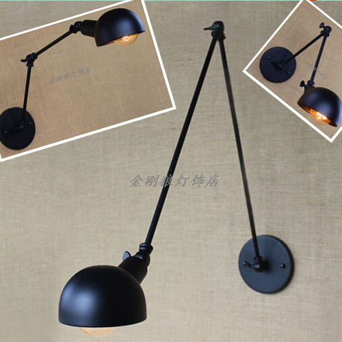 Loft iron giant creative personality Restaurant decoration wall wall retro minimalist living room lamp cover TA10188 personality creative rope restaurant wall light simple pastoral iron retro wall lamp double section turner lighting