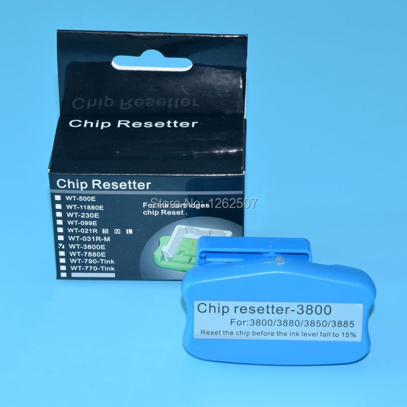 Free Shipping! Maintenance Tank Chip resetter for Epson PRO3800 PRO3880 PRO3890 PRO3850 Waste Ink Tank chip office school supplies chip for risograph duplicator c3050 chip solid ink photo free shipping