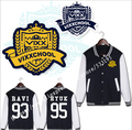 VIXX CHOOL with money who around N LEO RAVI KEN cardigan baseball uniform fleece women long sleeve coat