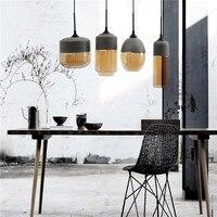 Free Shipping Modern Italian design dining room kitchen cafe shop store glass Pendant Lights lamp lighting glass hanging lights