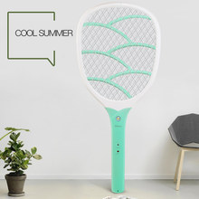 YAGE 400mAh Battery USB Electric Mosquito Swatter Repellent Bug Insect Reject Killers Pest Reject Racket Trap Anti Mosquito Fly(China)