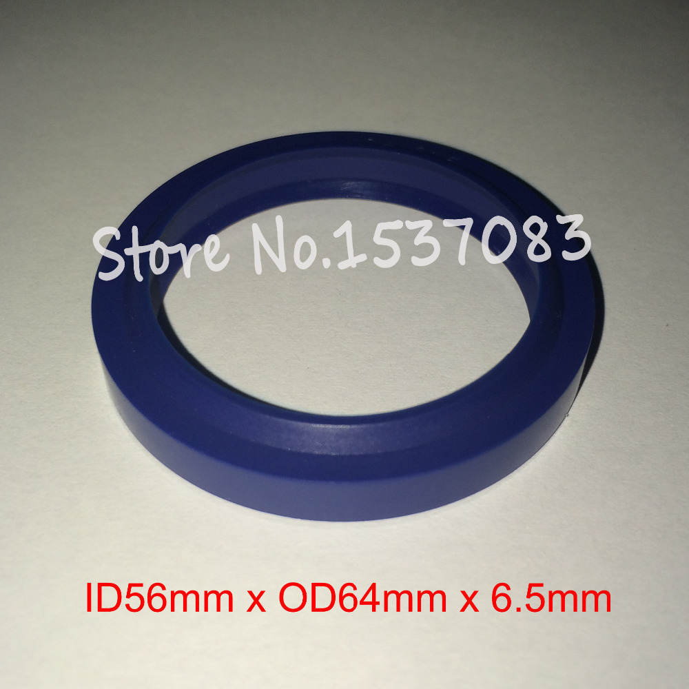 Hydraulic ram seal wiper seal o ring 56mm x 64mm x 5mm x 6 5mm in Gaskets from Home Improvement