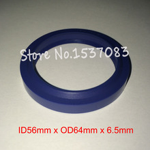 Hydraulic ram seal wiper o ring 56mm x 64mm 5mm 6.5mm