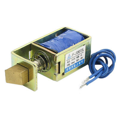 цена на DC12V 1A 15N/10mm Linear Motion Pull Type Door Lock Solenoid Electromagnet