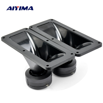 Aiyima 2PC Tweeters 187*80MM Piezoelectric Tweeter Loudspeaker 150W Ceramic Buzzer Treble Square Audio Speaker