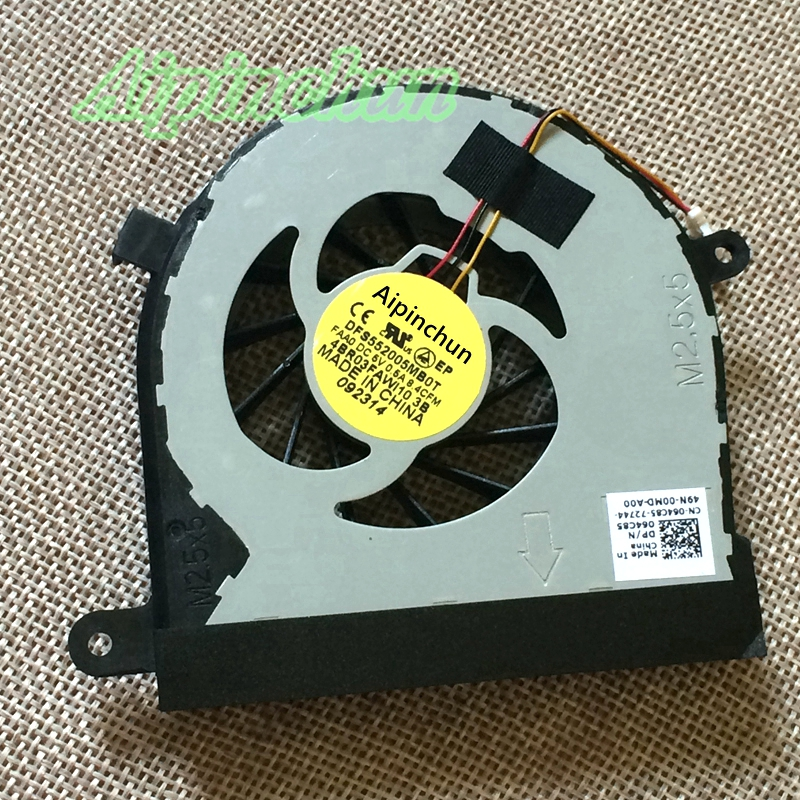 Aipinchun New CPU Cooling Fan For DELL INSPIRON N7110 VOSTRO 3750 V3750 Cooler Radiators Laptop Fan