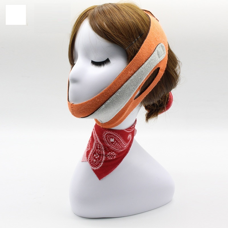 High quality Japan Cogit Beauty Face Lift Mask for Double Chin Wrinkle Lifting Face Jowly Elastic Line Belt Strap Face Sliming full face lift masks health care thin face mask slimming facial thin masseter double chin beauty face lifting bandage belt